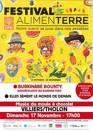 Festival Alimenterre 2019 Villiers sur Tholon Musée du moule à chocolat