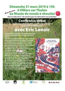 Conférence débat Eric Lenoir 01
